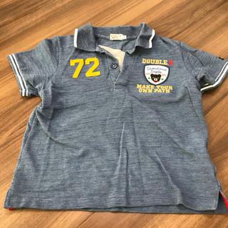 DOUBLE.B - ポロシャツ  130cm  ミキハウス ダブルビー  ブルー