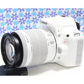 キヤノン(Canon)のおすすめ一眼レフ★Canon EOS kiss X7★希少なホワイトカラー★(デジタル一眼)