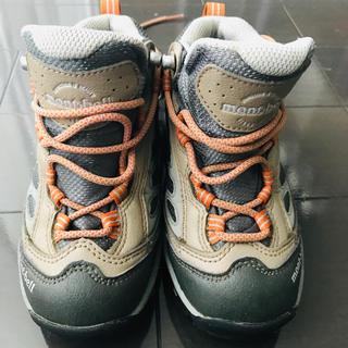 モンベル(mont bell)のmontbell モンベル 登山シューズ 17cm 子供 登山靴(アウトドアシューズ)