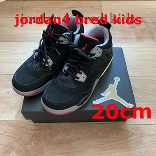 NIKE - jordan4 bred kids 20cm