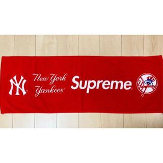 シュプリーム(Supreme)のNew York Yankees Supreme Hand Towel Red(タオル/バス用品)