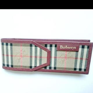バーバリー(BURBERRY)のバーバリー ノバチェ柄 ペンケース(ペンケース/筆箱)