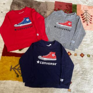 コンバース(CONVERSE)のコンバース ロンT3枚セット(Tシャツ/カットソー)