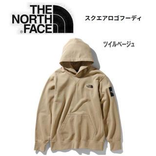 THE NORTH FACE - ノースフェイス スクエアロゴフーディ NT12035 メンズ パーカー