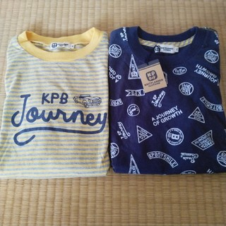ニットプランナー(KP)のKP BOY アンサンブルTシャツ 150(Tシャツ/カットソー)