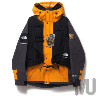 Supreme - supreme the north face rtg jacket gold