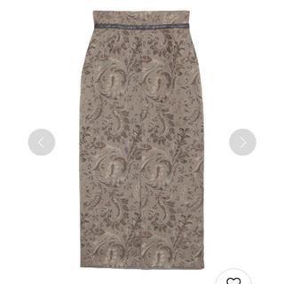 snidel - SNIDEL  ジャガードミドルタイトスカート