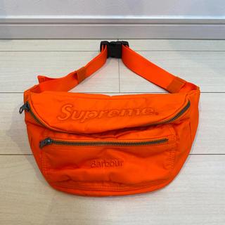 Supreme - Supreme / Barbour Waxed Cotton Waist Bag