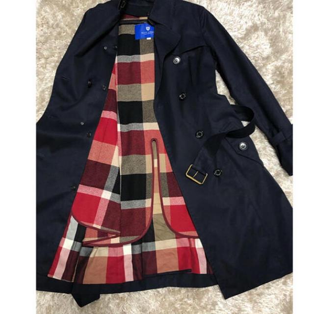 BURBERRY BLUE LABEL(バーバリーブルーレーベル)のBLUE LABEL CRESTBRIDGE☆トレンチコート レディースのジャケット/アウター(トレンチコート)の商品写真