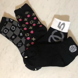韓国靴下 レディースソックス4足セット