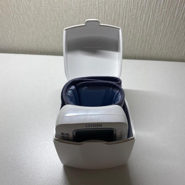 CITIZEN(シチズン)のCITIZEN 血圧計 CH-650F スマホ/家電/カメラの美容/健康(その他)の商品写真