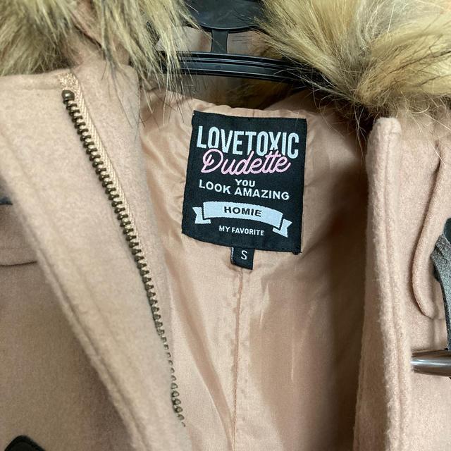 lovetoxic(ラブトキシック)のコート キッズ/ベビー/マタニティのキッズ服女の子用(90cm~)(コート)の商品写真