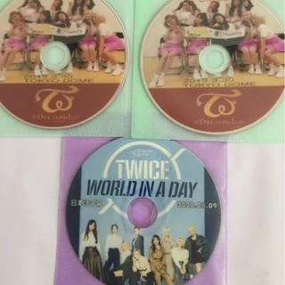 ウェストトゥワイス(Waste(twice))のDreamday2枚&最新作WORLDINADAYの3枚セット高画質日本語(アイドル)