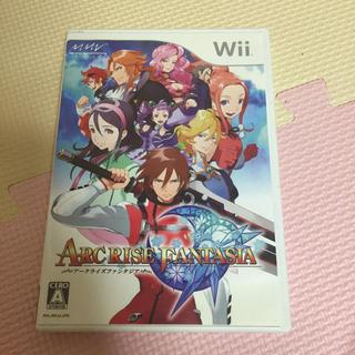 ウィー(Wii)のアークライズ ファンタジア(家庭用ゲームソフト)