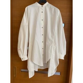 ENFOLD - ★ナゴンスタンス★デザインシャツ★ホワイト★38★