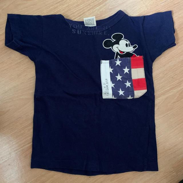 DENIM DUNGAREE(デニムダンガリー)のD D  Tシャツ キッズ/ベビー/マタニティのキッズ服男の子用(90cm~)(Tシャツ/カットソー)の商品写真