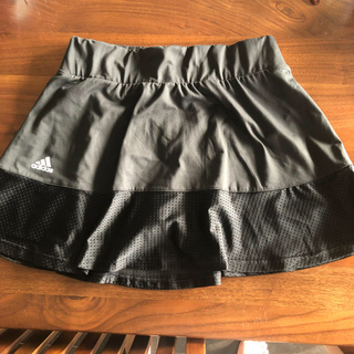 adidas - アディダス  テニススコート黒