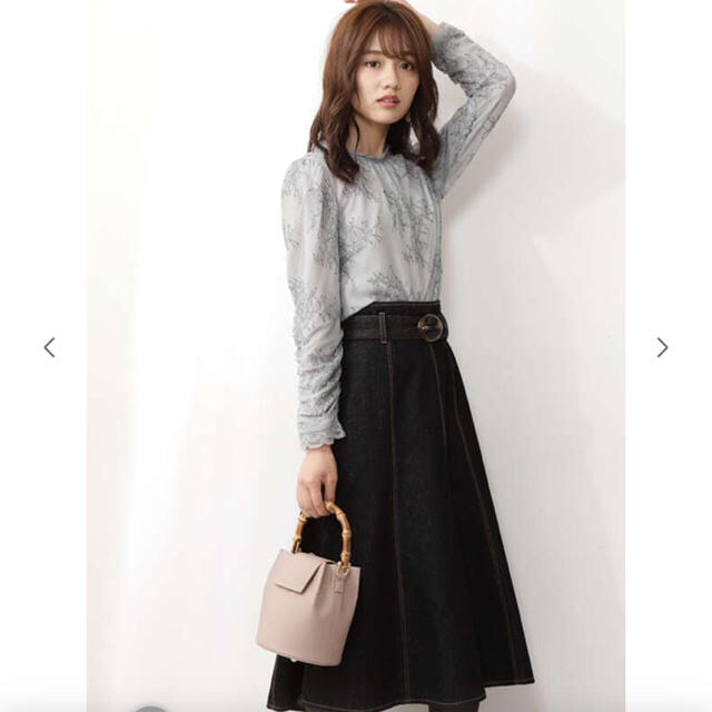 PROPORTION BODY DRESSING(プロポーションボディドレッシング)のプロポーションボディドレッシング マーメイドミモレデニムスカート レディースのスカート(ロングスカート)の商品写真