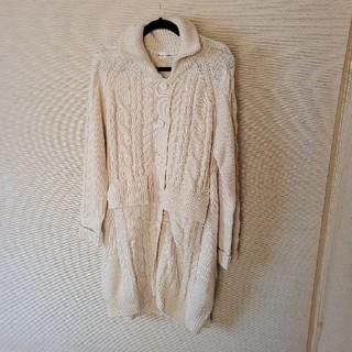ネストローブ(nest Robe)のKAWAI OKADA ロングニットカーディガン(カーディガン)