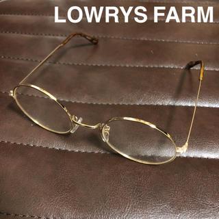 ローリーズファーム(LOWRYS FARM)のLOWRYS FARM 丸メガネ 度なし(サングラス/メガネ)