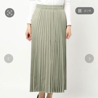 テチチ(Techichi)のルノンキュール スエードプリーツスカート(ロングスカート)