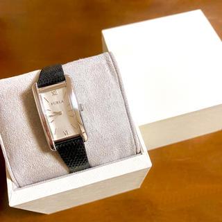 フルラ(Furla)の【美品!!】FURLA フルラ スクエア腕時計 レザーベルト 秋 ハロウィン🎀(腕時計)
