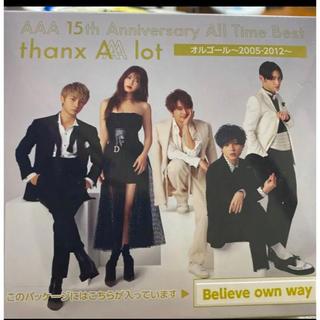 AAA 15th  オルゴール believe  own way