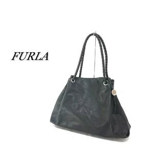 フルラ(Furla)のFURLA フルラ ショルダーバッグ ブラック レザー(ショルダーバッグ)
