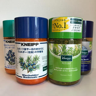 Kneipp - クナイプ バスソルト 850g  4本セット