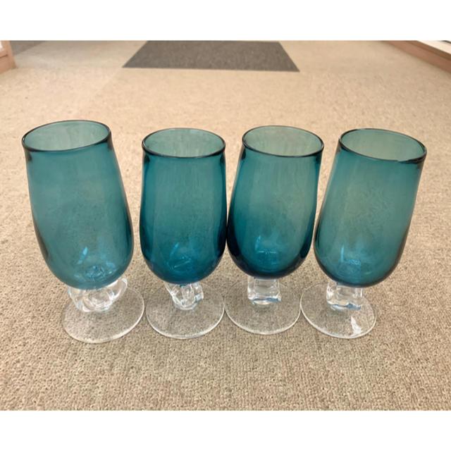 グラス 4個セット インテリア/住まい/日用品のキッチン/食器(グラス/カップ)の商品写真