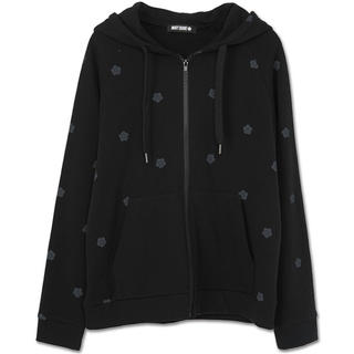 MARY QUANT - 新品 マリークワント 総柄デイジーパーカー 黒