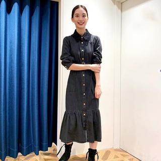 GRACE CONTINENTAL - グレースコンチネンタル⭐︎2020AW新作デニム刺繍衿ワンピース