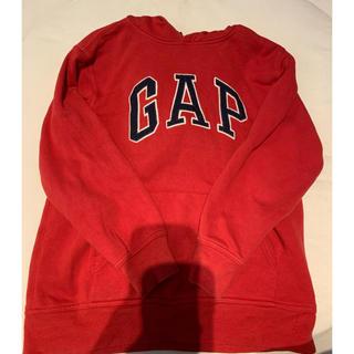 ギャップ(GAP)のGAP パーカー 赤(ジャケット/上着)