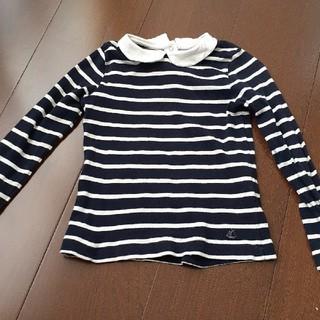 プチバトー(PETIT BATEAU)のプチバトー 襟付きトップス(Tシャツ/カットソー)