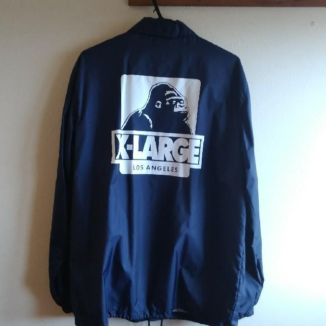 XLARGE(エクストララージ)のエクストララージ コーチジャケットXL美品 メンズのジャケット/アウター(ナイロンジャケット)の商品写真