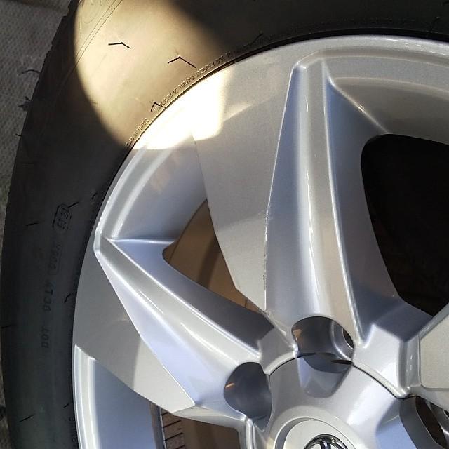 トヨタ(トヨタ)の大幅値下げ 納車前外しトヨタ プラド純正 MICHELIN LATITUDE 2 自動車/バイクの自動車(タイヤ・ホイールセット)の商品写真