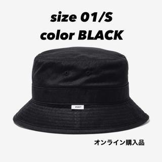 W)taps - WTAPS BUCKET HAT 01 BLACK バケハ バケットハット