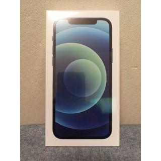 アイフォーン(iPhone)の新品未使用 iPhone12本体 ブルー 128GB 6.1インチ SIMフリー(携帯電話本体)