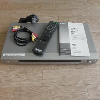 ソニー(SONY)のソニー DVDプレーヤー 2003年製(DVDプレーヤー)