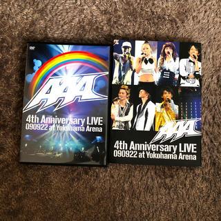 AAA - AAA 4th Anniversary LIVE 090922 at Yokoh