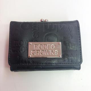 ロデオクラウンズ(RODEO CROWNS)の本日終了!期間限定出品!ロデオクラウン!ロゴ型押し三つ折りミニ財布!(財布)