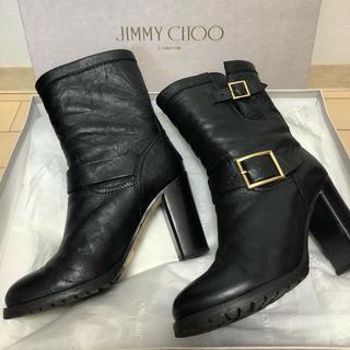 JIMMY CHOO - ジミーチュウ  バイカーブーツ