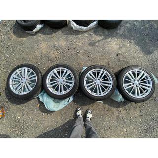 スバル(スバル)のスバル インプレッサ スタッドレスタイヤ 17インチ 極上品 4本セット(タイヤ・ホイールセット)