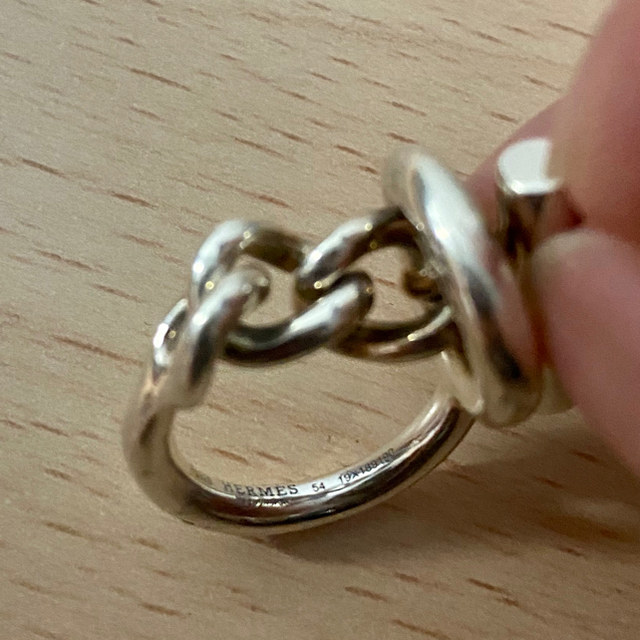 Hermes(エルメス)のエルメス リング クロワゼット 14号 メンズのアクセサリー(リング(指輪))の商品写真