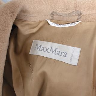 Max Mara - Max Mara マックスマーラ 白タグ カシミヤダブルブレストコート