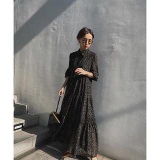 Ameri VINTAGE - 【ameri vintage】TWINKLE WIDENING DRESS