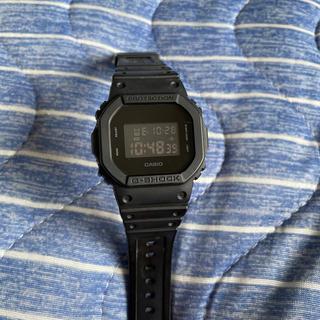 ジーショック(G-SHOCK)のg-shock DW-5600BB スピードモデル 中古本体のみ(腕時計(デジタル))