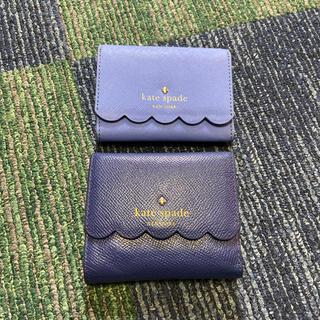 kate spade new york - ケイトスペード  スカラップ 三つ折りミニ財布&パスケース♡