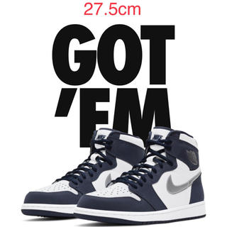 NIKE - AIR JORDAN1 MIDNIGHT NAVY ジョーダン1 ネイビー