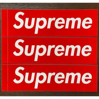 Supreme - supreme box logo ステッカー